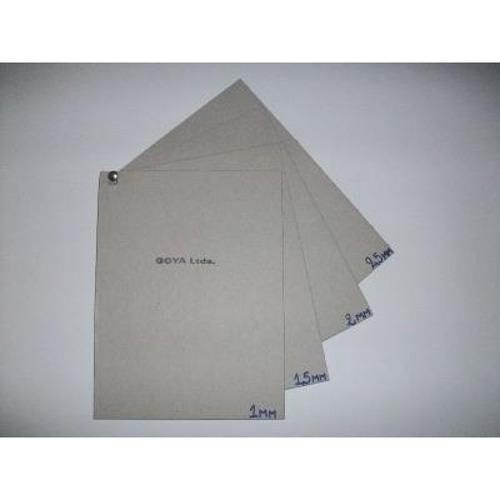 Cartón Gris Extra Liso 2,5mm 35x50
