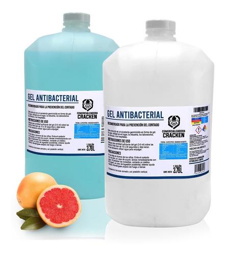 Imagen 1 de 9 de Gel Antibacterial Para Manos Desinfectante 1 Galón