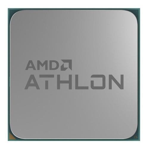Imagem 1 de 3 de Processador AMD Athlon 3000G YD3000C6FHBOX de 2 núcleos e 3.5GHz de frequência com gráfica integrada