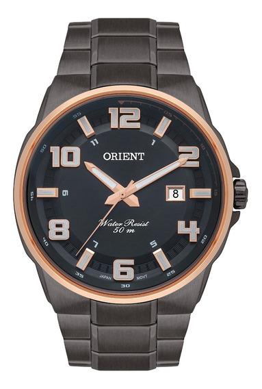 Relógio Orient Masculino Grafite Myss1010 G2gx