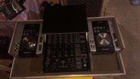 Case Com Suporte Para Notbook Mixer E Cdj200 Barato