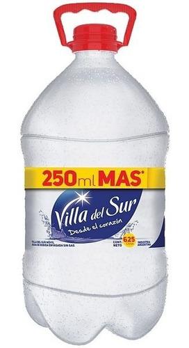 Agua Villa Del Sur Bidon Sin Gas X 6,25l