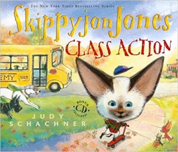 Skippyjon Jones - Class Action - Book With Audio Cd - Dutton