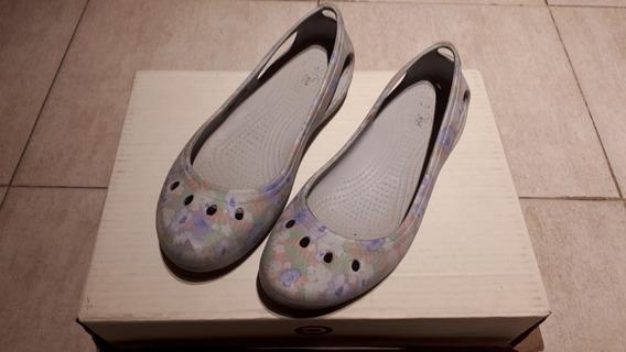 Sandalias Tipo Balerinas Crocs - Impecables - Oportunidad!