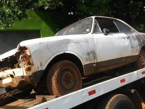 Chevrolet Opala 72 Cupe 4cc Nota Fiscal De Leilao P/ Peças