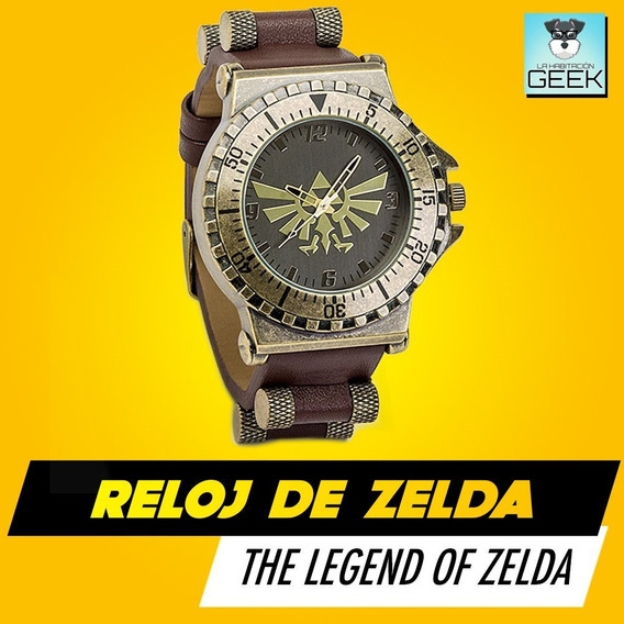 Reloj Original De The Legend Of Zelda Oficial Thinkgeek