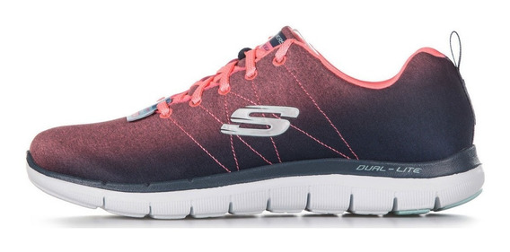 Zapatillas Skechers Flex Appeal 2.0 Bright Side Ch/c (2763)