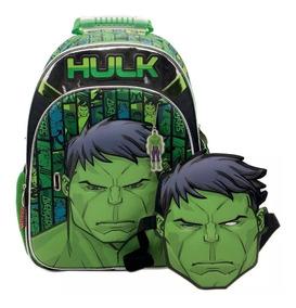 Mochila De Espalda Avengers Hulk 3d 16 (sp160)