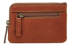 Fossil - Monedero Ml4025222 Nigel Zip Coin Case Para Hombre