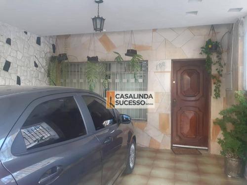 Sobrado Com 3 Dormitórios À Venda, 250 M² Por R$ 520.000,00 - Vila Carrão - São Paulo/sp - So0943