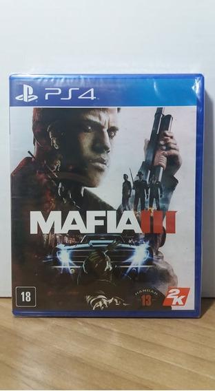 Mafia 3 Ps4 Lacrado