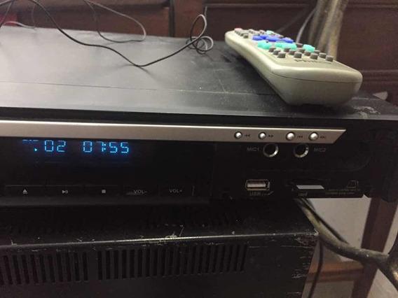 Dvd Player Philco Cinema C/ Entradas Usb Cartão De Memória