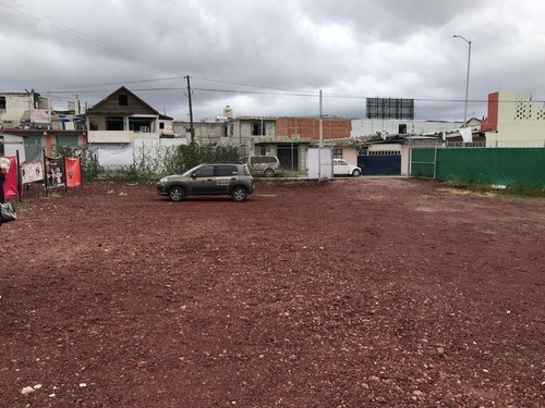 Rento Amplio Terreno Comercial En San Antonio Pachuca