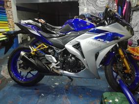 Yamaha R3 2015 Azul Negociable