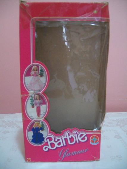 Caixa Antiga Barbie Glamour (somente A Caixa) - Estrela