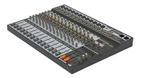 Mesa De Som Soundcraft Sx1602 Fx 16 Canais Usb