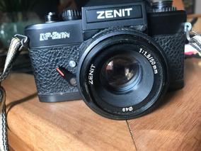 Camera Zenit Df- 2etm Lente Zenit 50mm 1:1,8
