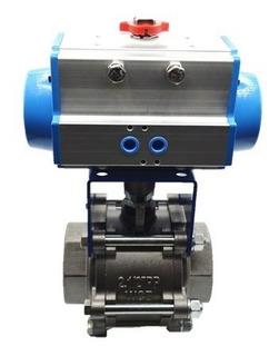 Válvula 2.1/2 C/ Atuador Pneumático Da75
