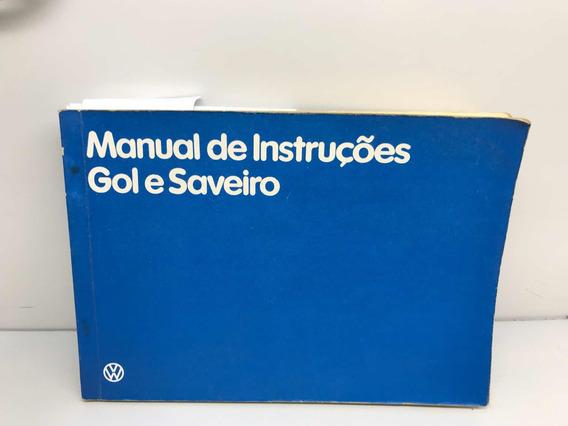 Manual Do Proprietário Gol E Saveiro Quadrada 85