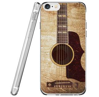 iPhone Xr Funda Stitch Playing Guitar 3d Printed Soft Clear