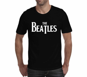Camiseta The Beatles 3 - Preta