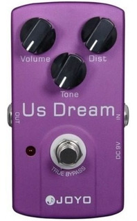 Joyo Jf34 Us Dream Pedal Distorsion Clon Suhr Riot