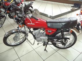 Honda Cg 125 Vermelho 1982