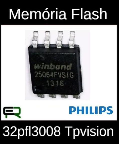 Memória Flash Gravada Philips 32pfl3008 Tpvision Frete 12,00