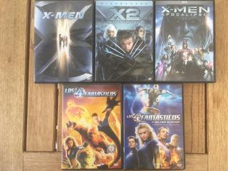 Coleccion Marvel X Men,los 4 Fantasticos Dvd