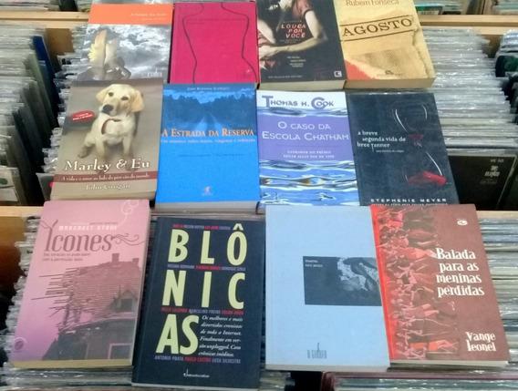 Pacote C/ 12 Livros De Literatura Brasileira E Estrangeira