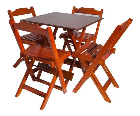 Mesa Bar Com 4 Cadeiras