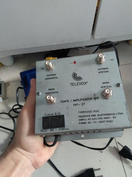 Amplificador Sinal Antena Satélite Ku