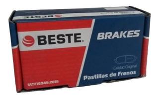Pastillas De Freno (d) Hyundai Accent Rb 1.6 2011. 1051be