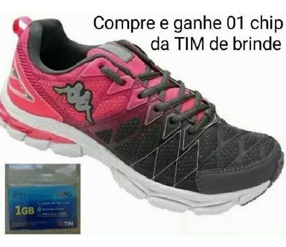 Tênis Kappa Feminino. Promoção Compre E Ganhe Um Brinde