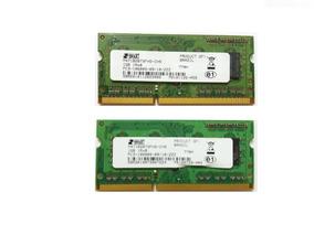 Memória Para Notebook 2gb Ddr3 Pc3-10600 (2x1gb)