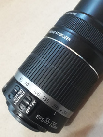 Lente Canon 55-250mm 4-5.6
