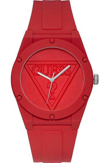 Relógio Guess Retro Pop Silicone Vermelho W0979l3