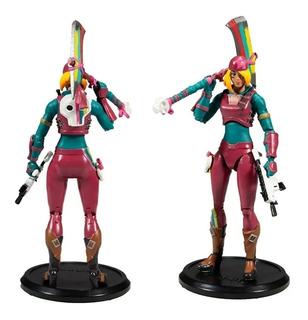 Muñeco Personaje Colección Con Accesorios Fortnite Quepeños