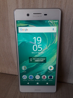 Smartphone Sony Xperia X Dual Chip Android Tela 5 64gb 4g