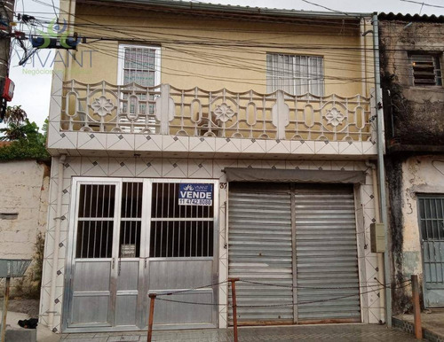Imagem 1 de 21 de Sobrado Com 2 Dormitórios À Venda, 200 M² Por R$ 250.000,00 - Jardim São Bernardino - Suzano/sp - So0199