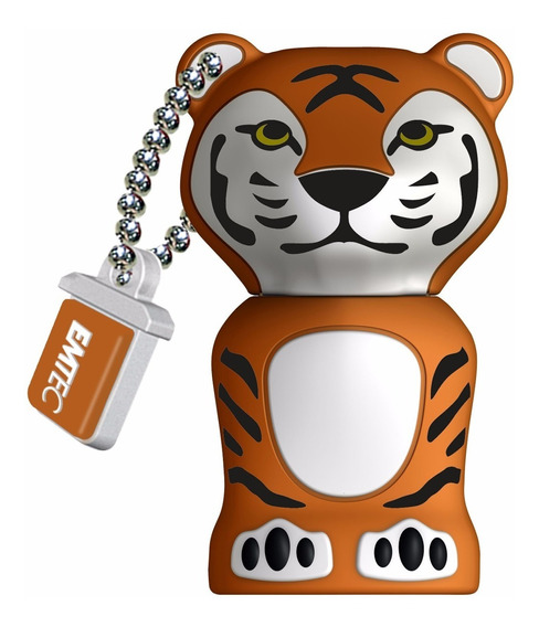 Pen Drive Flash Drive Emtec Videolar Jungle Tigre 8gb