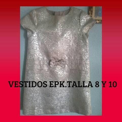 Vestido Epk Talla 10