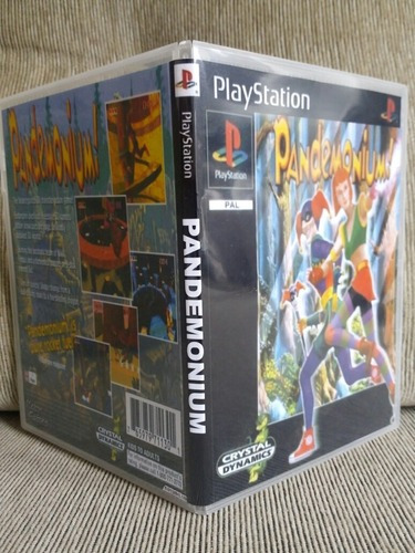 Ps1 Pandemonium Para Playstation 1 - Patch