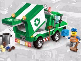 Lego Tipo, Bloque De Ensamble City Camion