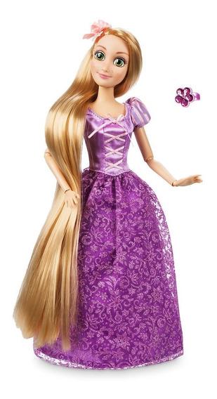 Rapunzel Princesa Disney Boneca Articulada 30 Cm