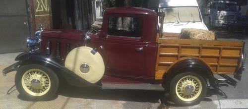 Imagen 1 de 8 de Permuto - Chevrolet Pick Up 1932  Película Argentina