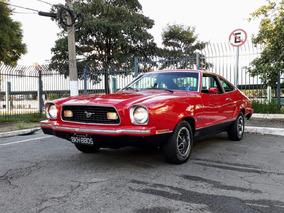 Ford Mustang Mach I 1974 Placa Preta Raridade