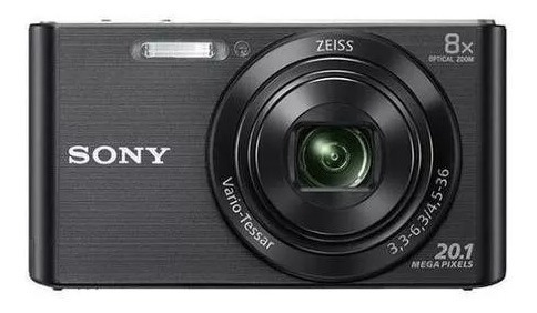 Câmera Fotográfica Sony Dsc-w830 Tela 2.7 De 20.1mp Hd X8