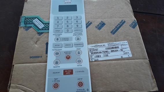 W10187227 Membrana Painel Micro Ondas Brastemp Bmg35ab