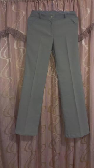 Pantalón De Vestir De Dama. Como Nuevo Precio 2 Verdes.
